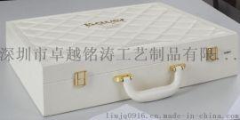 化妆用品皮盒 皮盒皮箱 美容用品皮箱 精油盒