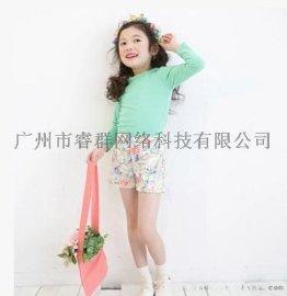 睿群客户【备战双十一】童女童儿童装打底衫夏圆领秋衣