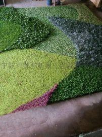 仿真植物墙 植物围墙 绿篱墙生产 假植物墙生产 立体绿化