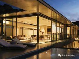 贝科利尔151系列高端铝包木别墅玻璃顶隔音设计阳光房