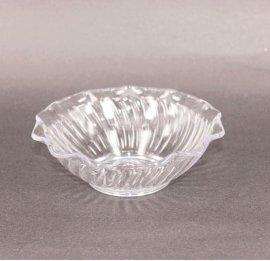 200ml一次性碗, 冰淇淋碟, 塑料,花紋碗,果碟