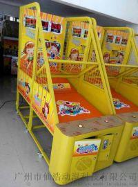 儿童投币游戏机 快乐宝贝投篮机 室内儿童电玩 投币游戏机