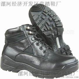 固特异工艺作战靴6寸突击靴(DJX-6CTJX)漯河鞋厂军靴厂家