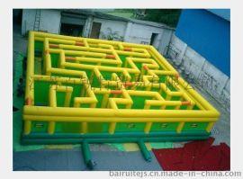 大型充气迷宫游乐园 消防演练迷宫厂家直销