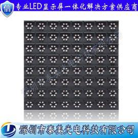戶外高亮P31.25可變信息誘導屏雙色led單元板