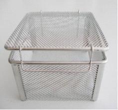 不锈钢板网精密器械清洗消毒盒