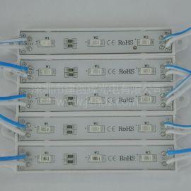 廠家供應LED模組5730廣告防水不防水紅光 白光 藍光 綠光 黃光