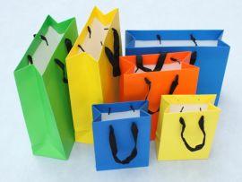 厂家定制高档白卡创意设计企业采集商务办公手提纸袋