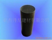 铝合金圆形落水管铝合金圆形雨水管75圆形无缝管(3寸)