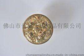 长庚CG-001紫金花单孔铜拉手