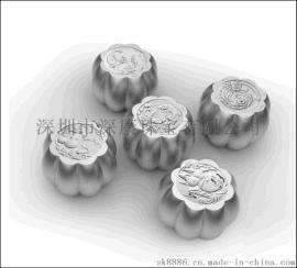 深圳宣传礼品纯银月饼中秋节制定logo礼品厂家
