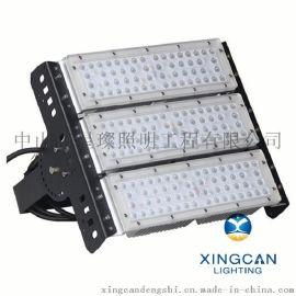 新款LED隧道投光灯 户外广场码头防水隧道灯 100W可调角度隧道模组灯