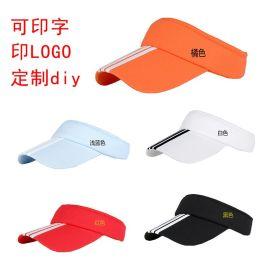 成都空頂帽廠家定做 現貨太陽帽制作 帽子廠家量大從優