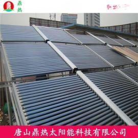 南京镀铝锌可定制鼎热太阳能工程联箱厂家学校餐厅专用25孔