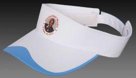 空顶帽厂家供应纯棉印花无顶太阳帽 户外跑步运动帽