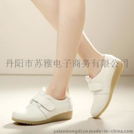 雅蓝梦迪506真皮气垫护士鞋