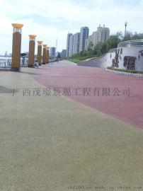 重庆彩色透水地坪透水路面量大从优