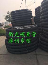 地埋pe碳素螺纹管_电缆穿线管湖南衡阳生产批发商