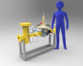 新型燃气过滤器调压器DN80燃气安全切断阀组合一体装置性价比高