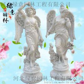 石雕西方人欧式人物雕塑 玻璃钢西方人物雕像 曲阳雕刻