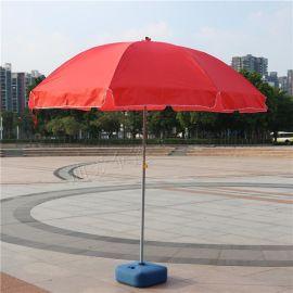 厂家直销广告太阳伞 户外促销活动地摊遮阳伞 专业定制大号沙滩伞 印刷LOGO