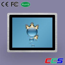 12寸3MM超薄嵌入式工业十点电容触摸产品 4:3正屏工业级显示器