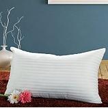 厂价直销五星级宾馆专用枕芯荆疆牌白色暗格枕芯