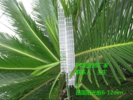 佛山PC阳光板厂家,温室采光用四层阳光板