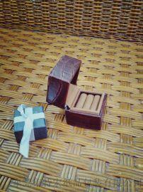 方蟒紋形清新精美首飾盒