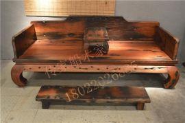 船木家具罗汉床,实木家具罗汉