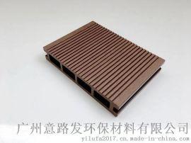 厂家直销供应意路发塑木地板实心地板系列产品 户外公园专用