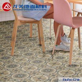 定制国外进口地板 酒店商场住户铺设防火防水地板 塑胶木地板