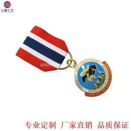 廠家專業定做榮譽勳章 北京政府單位榮譽獎章訂做工廠
