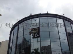 安装外墙玻璃 广州更换幕墙玻璃