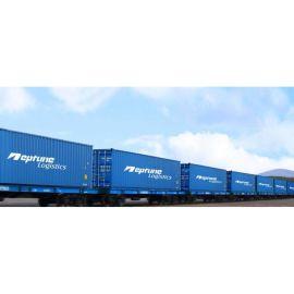 中亚五国俄罗斯蒙古欧洲铁路运输班列整箱拼箱