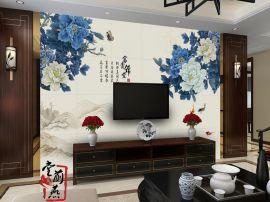 客厅电视背景墙加盟代理/客厅背景墙经销开店
