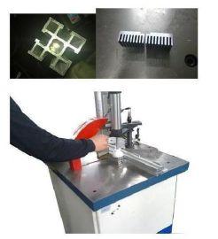 气动半自动高速铝材切割机图片