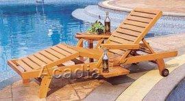 木制躺椅沙滩椅(ACW-004)