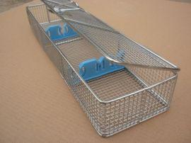 不锈钢消毒筐 医院不锈钢网篮消毒筐