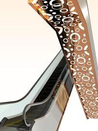 商场自动扶梯装潢装饰公司