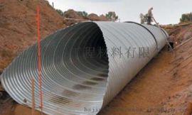 新疆地区公路桥隧建设用高强度拼装钢制波纹涵管