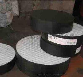 黑色圆形隔震橡胶支座报价