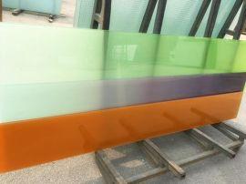 东方海华彩色渐变玻璃