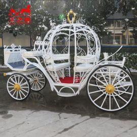 公主南瓜馬車婚禮新娘入場馬車