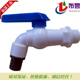 厂家直销批发布鲁牌PVC水龙头 全塑新款水嘴快开美观易调节