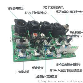 专业音频DSP处理器音频模块 32位DSP调音版 前级板