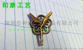 那里可以做镂空徽章,logo镂空异形金属徽章制作,订做