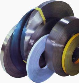 稳泰卷尺厂供应10毫米宽眼镜袋凹弧锰钢片 卷尺弹片材料