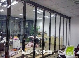 深圳兴恒鑫专业制作玻璃门无框玻璃门铝合金玻璃门不锈钢防火玻璃门