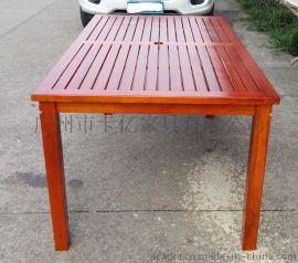实木餐桌椅折叠桌椅实木野餐台